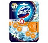 Domestos Power 5 Orange Blossom Stiff Toilet Rim Block 55g