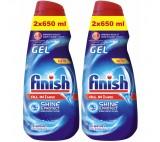 Finish All in 1 Max Shine & Protect Gel Dishwasher 2 x 650ml