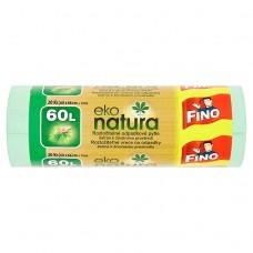 Fino Eko Natura Biodegradable Waste Sack 60L 20 pcs