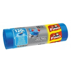 Fino Easy-Pack Garbage Bags Strong 120L 15 pcs