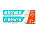 elmex Sensitive Toothpaste with Aminfluoride 2 x 75ml