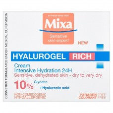 Mixa Sensitive Skin Expert Hyalurogel Intensive Moisturizing Care 50ml