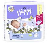 Happy 1 Newborn Disposable Diapers 2-5kg á 78 pcs