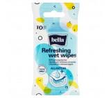 Bella Allantoin Refreshing Wet Wipes 10 Pieces