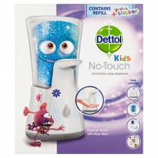 Dettol Kids No-Touch Automatic Soap Dispenser and Refill 250ml