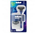 Gillette Mach3 pánský holicí strojek +  náhradní hlavice