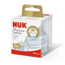 Nuk Nature Sense Artificial Infant Formulas M 2 pcs