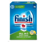 Finish All in 1 Lemon Dishwasher Detergent in Tabs 1120 g (70 Pieces)