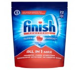 Finish Powerball All in 1 Max Dishwasher Tablets 22 pcs 358.6g