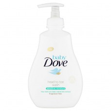 Baby Dove Sensitive Moisture Cleansing Gel for Whole Body and Hair 400ml