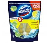 Domestos Power 5 Lime Toilet Block 5 x 55g