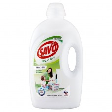 Savo Without Chlorine Universal Wash Gel for White and Colour Laundry 70 Washes