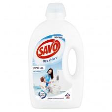 Savo Without Chlorine White Washing Gel for White Laundry 50 Washes