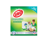 Savo Without Chlorine Universal Washing Powder for Colour and White Laundry 50 Washes