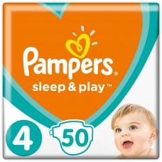 Pampers Sleep&Play V4, 50Diapers, 9–14kg