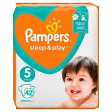 Pampers Sleep&Play V5, 42Diapers, 11–16kg