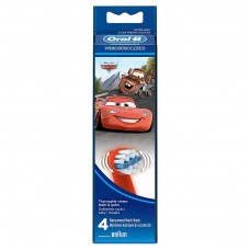Oral-B Stages Toothbrush Heads Featuring Disney Cars Characters x4