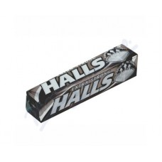 Halls Candy with Super Strong Mentol and Eucalyptus 33.5g
