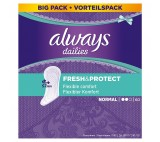 Always Dailies Fresh & Protect Panty Liners Normal x60