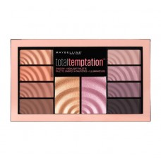 Maybelline New York Total Temptation Shadow & Highlight Palette 12g