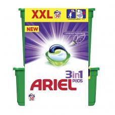 Ariel Lavender Freshness 3 In 1, 50 Tabs
