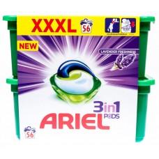 Ariel Lavender Freshness 3 In 1, 56 Tabs