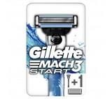 Gillette Mach3 Start Men's Razor Handle + 1 Blades