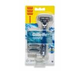 Gillette Mach3 Start Men's Razor Handle + 3 Blades