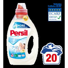 Persil Sensitive Gel 20 Washes 1.00L
