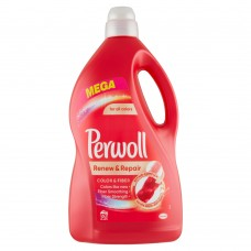 Perwoll Renew Advanced Effect Color & Fiber Washing Liquid 60 Washes 3.6L