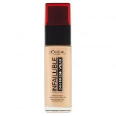 L'Oréal Paris Infaillible 24H Fresh Wear 120 Vanilla Foundation 30ml