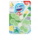 Domestos Power 5 Green Tea & Citrus Solid Toilet Block 2 x 55g
