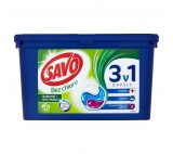 Savo Bez Chloru Capsules on Colored and White Laundry 45 Washes