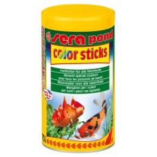 Sera vybarvovací krmivo pro zlaté a studenovodní ryby Pond Color Sticks 1000ml