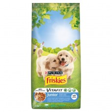 Friskies for Puppies Junior with Chicken Vegetables and Milk 3kg