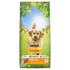 FRISKIES for Adult Dogs Balance with Chicken and Vegetables 3kg