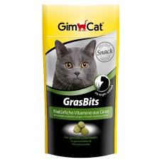 GIMCAT GRAS BITS tabl. s kočičí trávou 40g