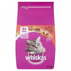 Whiskas Tasty Stuffed with Beef Granules 1+ Age 3.8kg