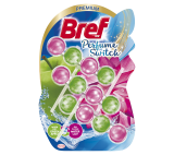 Bref Perfume Switch Floral Apple / Water Lily Toilet Rim Block 3 x 50g