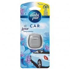 Ambi Pur Air Freshener Car Clip Spring Awakening With Lenor 1 Unit