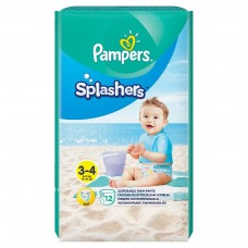 Pampers Splashers Size 3, 12 Disposable Swim Pants
