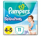 Pampers Splashers Size 4, 11 Disposable Swim Pants
