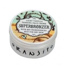 Opalovací krém do solária na obličej a dekolt Vanilla (Face Cream Superbronzer) 50 g