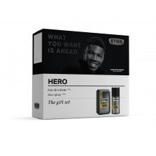 STR8 HERO EDT + deodorant
