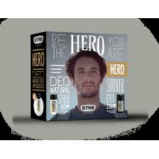 STR8 HERO deo natural sprej + sprchový gel