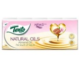 Tento Natural Oils Almond Oil Handkerchiefs 4 Plies 10 x 10 pcs