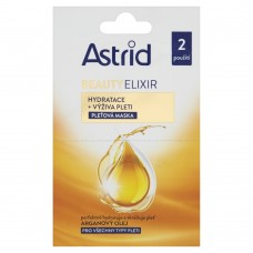 Astrid Beauty Elixir Moisturizing + Nourishing Face Mask 2 x 8ml