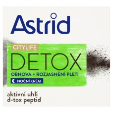 Astrid Citylife Detox Refreshing + Skin Brightening Night Cream 50ml
