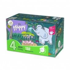 Bella Baby Happy 4 Maxi 8-18 kg Diapers 132 Pieces