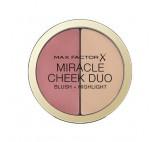 Tvářenka a rozjasňovač Miracle Cheek Duo (Blush & Highlight) 11 g